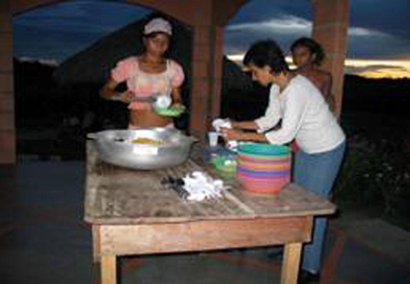 Abendessen vorbereiten