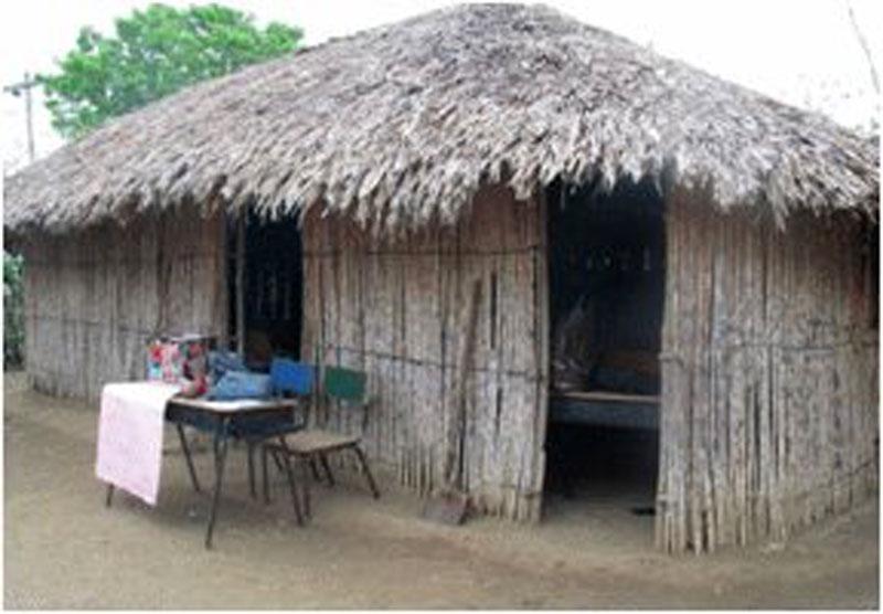 Calle Fria: Hütte
