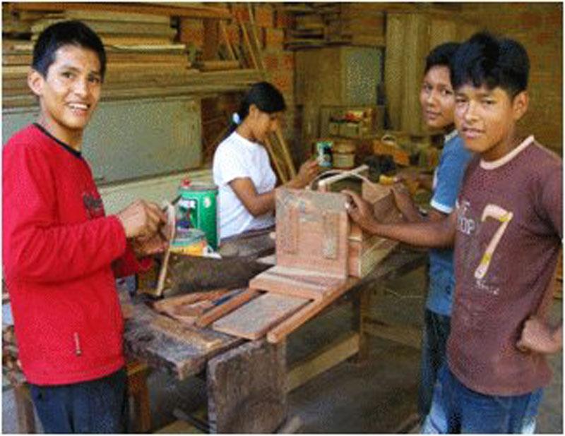 Internat Popoy: Schülerprojekt