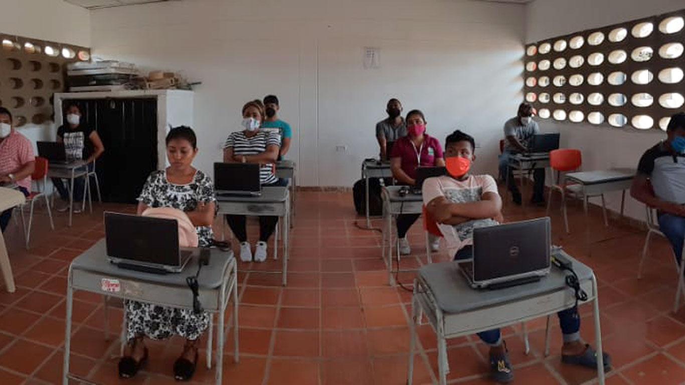 La Guajira: Klassenzimmer