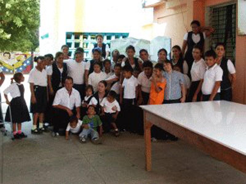 Villa del Rosario: Klassenfoto